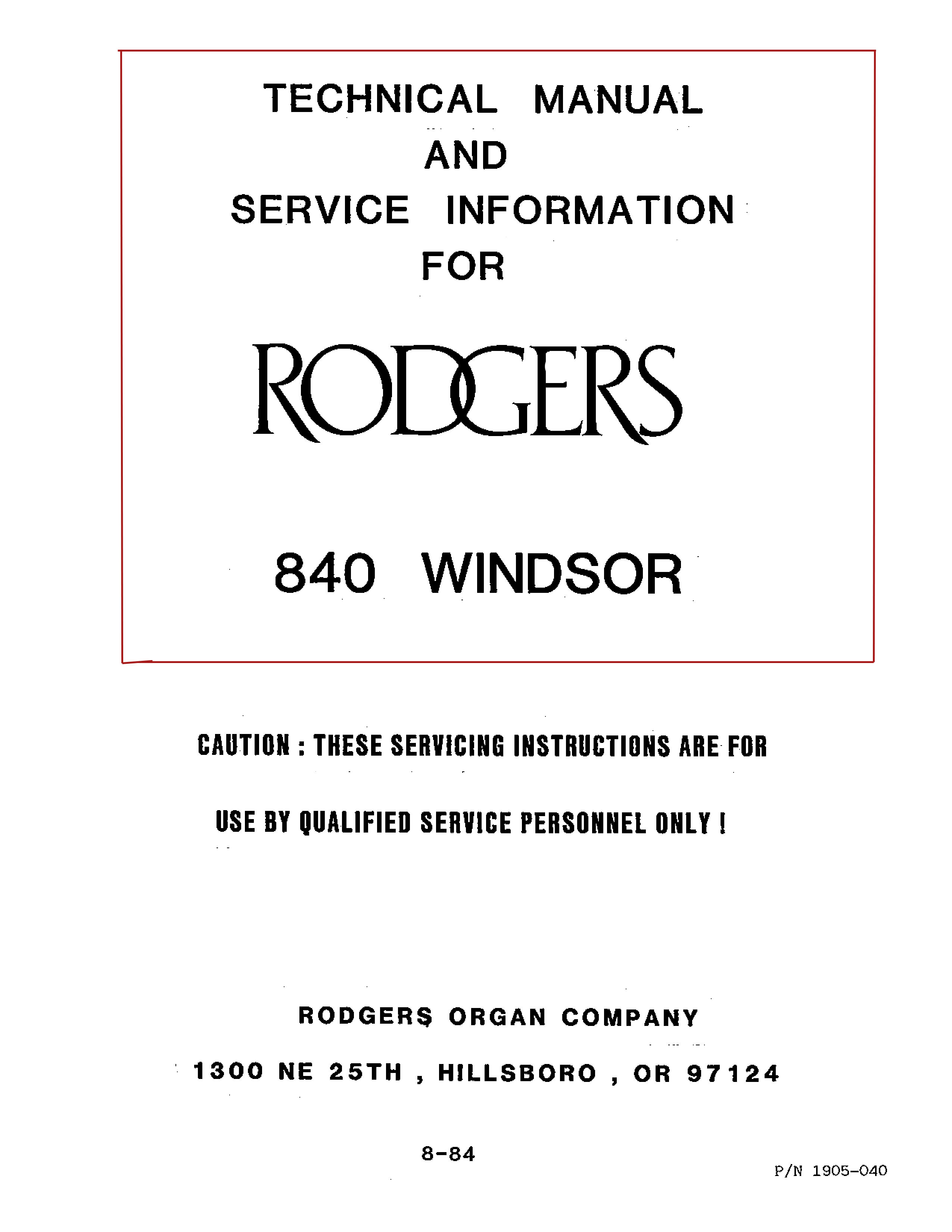 Theatre Organ Classified Selected Ad