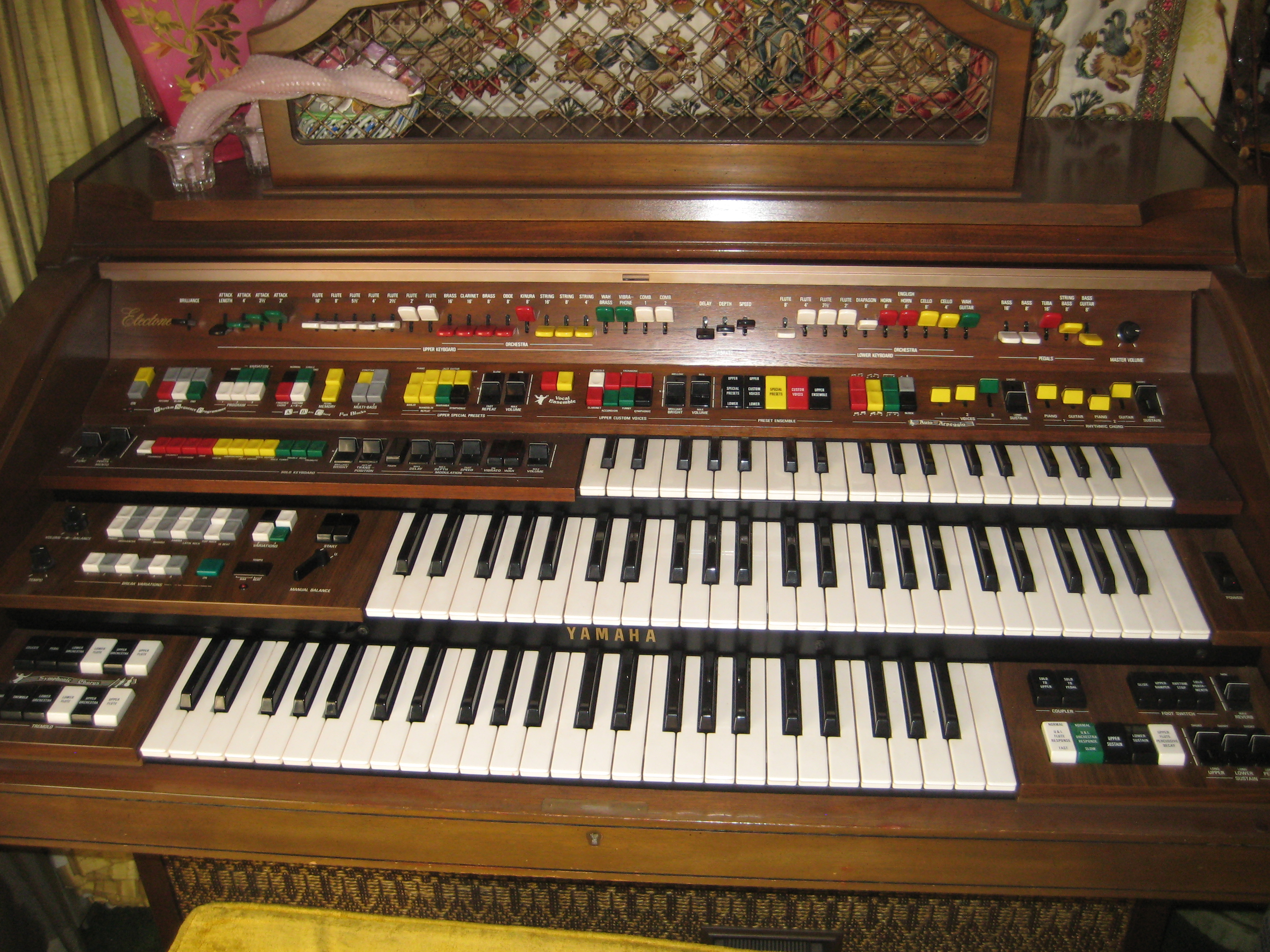 How to train your dragon mechanicalkeyboards for Yamaha electone organ models